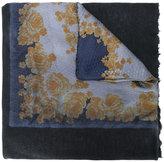 Avant Toi floral print scarf - men - Silk/Cashmere - One Size