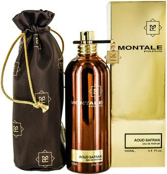 Montale 3.3Oz Aoud Safran Eau De Parfum Spray