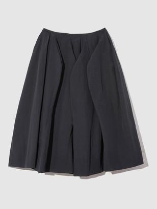 Nancyboo Curved Line Volume Skirt