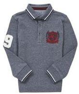 F&F Pique Long Sleeve Polo Shirt, Boy's