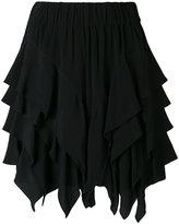 Etoile Isabel Marant ruffled 'Wonda' mini skirt - women - Cupro/Viscose - 36