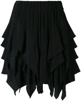 Etoile Isabel Marant ruffled 'Wonda' mini skirt - women - Cupro/Viscose - 38