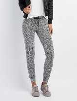 Charlotte Russe Brushed Hacci Jogger Pants