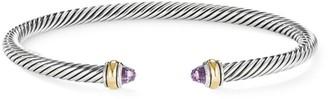 David Yurman Cable 18K Yellow Gold, Sterling Silver & Gemstone Bracelet
