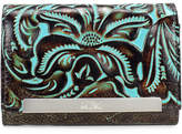 Patricia Nash Turquoise Tooled Cametti Wallet