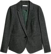 Wool-tweed blazer