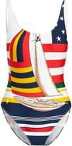 Ralph Lauren Sailboat One-Piece Swimsuit