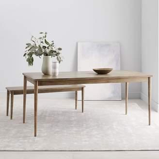 west elm Modern Farmhouse Dining Table - Cerused Carob