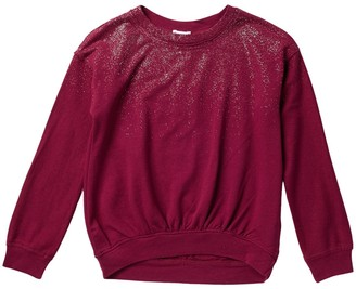 Splendid Silver Spray Long Sleeve Top (Big Girls)