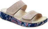 Alegria Leather Adjustable Straps Slip-On Sandals - Maison