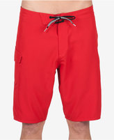 Volcom Men's Costa Solid Graphic-print Logo 21and#034; Boardshorts