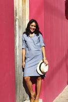 Shabby Apple Clarita Tunic Dress Blue