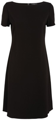 Theory Boat-Neck Midi Dress