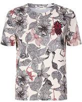 Maje Toronto Floral Print T-Shirt