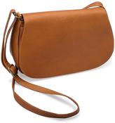 Le Donne Tan Eudora Leather Crossbody Bag