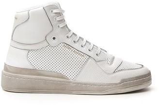 Saint Laurent SL24 Perforated Sneakers