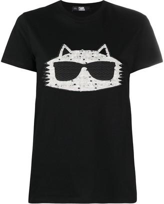 Karl Lagerfeld Paris Choupette boucle T-Shirt