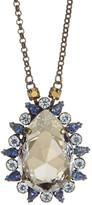 Sorrelli Teardrop Crystal Pendant Necklace