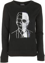 Karl Lagerfeld Photo Sweatshirt