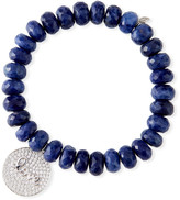 Sydney Evan 14k Diamond Love Script Sodalite Bracelet
