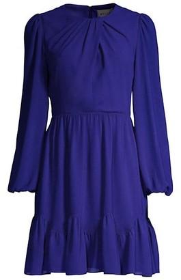 Milly Jackie Chiffon Dress