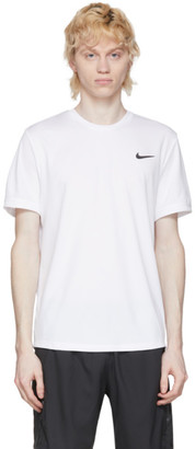 Nike White Dri-FIT Tennis T-Shirt