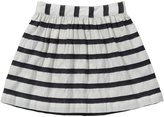 Osh Kosh Striped Woven Skirt (Toddler/Kid) - Navy Stripe-4