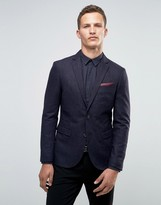 Selected Broken Stripe Blazer in Slim Fit