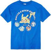 Pokemon Boys Short Sleeve T-Shirt-Big Kid
