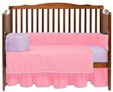 Baby Doll Bedding BabyDoll Bedding Solid 4 Piece Crib Bedding Set