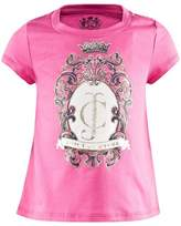 Juicy Couture Pink Jewelled Logo Tee