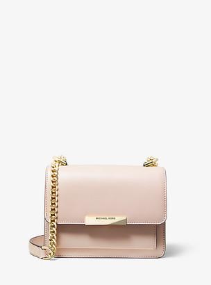 Michael Kors Jade Extra-Small Leather Crossbody Bag