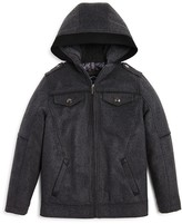 Urban Republic Boys' Flannel Officers Jacket - Big Kid