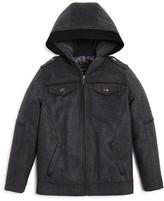 Urban Republic Boys' Flannel Officers Jacket - Big Kid