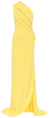 Maticevski Exclusive to Mytheresa Steadfast stretch-crepe one-shoulder gown