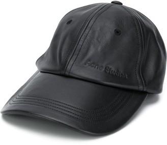Acne Studios Debossed Logo Baseball Cap