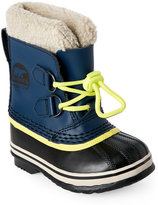 Sorel Toddler Boys) Nocturnal Yoot Pac TP Faux Fur Cuff Boots