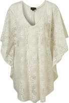 Cream Lace Cape