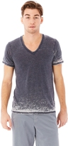 Alternative Boss V-Neck Eco-Jersey Burnout T-Shirt