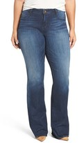 KUT from the Kloth Plus Size Women's Natalie Stretch Bootcut Jeans