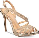 Badgley Mischka Humble Strappy Platform Evening Sandals Women's Shoes