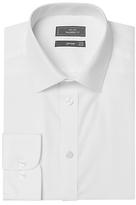 John Lewis Tailored Non-iron Self Stripe Long Sleeve Shirt