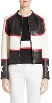 Belstaff Women's Whitaker Stars Leather Moto Jacket