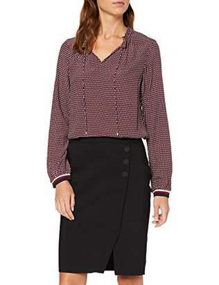 S'Oliver BLACK LABEL Women's 11.909.11.2554 Blouse, (red AOP 36A7), (Size:46)