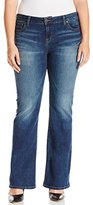 Lucky Brand Women's Plus-Size Petite Ginger Bootcut Jean In Amazonite