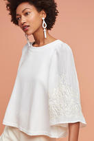 Eri + Ali Embroidered Poncho Pullover