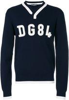 Dolce & Gabbana DG84 V-neck sweater