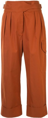 See by Chloe City cropped trousers