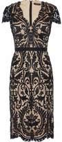 Catherine Deane Jessica Satin-Appliquéd Embellished Tulle Dress