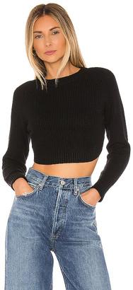 superdown Lanie Open Back Sweater